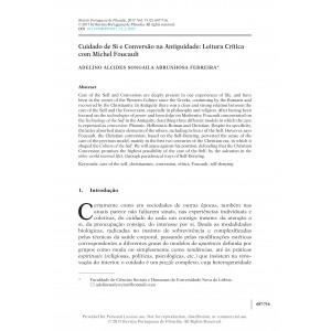 Cuidado de Si e Conversão na Antiguidade: Leitura Crítica com Michel Foucault