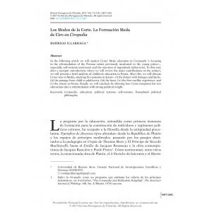 Los Modos de la Corte. La Formación Meda de Ciro en Ciropedia