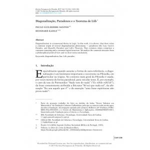 Diagonalização, Paradoxos e o Teorema de Löb