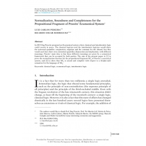 Normalization, Soundness and Completeness for the Propositional Fragment of Prawitz' Ecumenical System