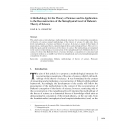 A Methodology for the Theory of Science and Its Application to the Reconstruction of the Metaphysical Level of Duhem's Theory