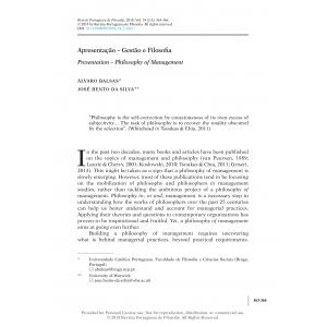 Presentation – Philosophy of Management
