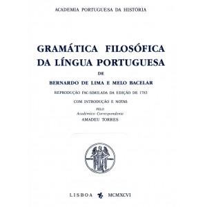 Gramática Filosófica da Língua Portuguesa, Bernardo Lima Melo Bacelar