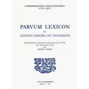 Parvum Lexicon, de António Pereira de Figueiredo