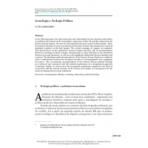 Iconologia e Teologia Política