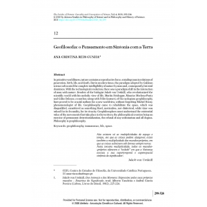 Geofilosofia: o Pensamento em Sintonia com a Terra