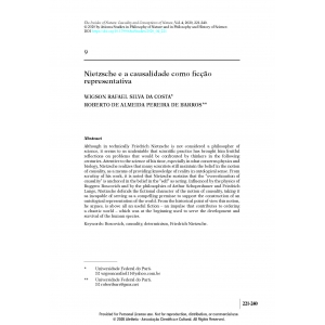 Nietzsche e a causalidade como ficção representativa