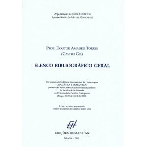 Prof. Doutor Amadeu Torres (Castro Gil) - Elenco Bibliográfico Geral