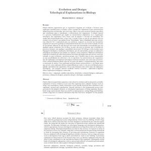 Evolution and Design: Teleological Explanations in Biology
