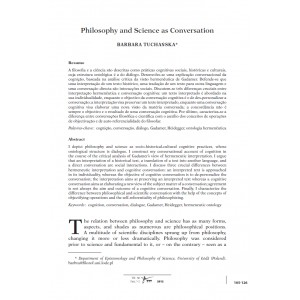 Philosophy and Science as Conversation