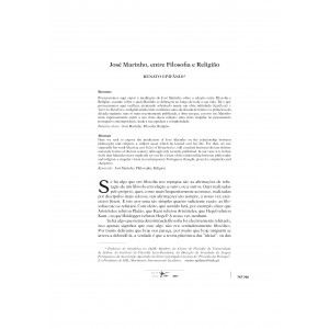 José Marinho, entre Filosofia e Religião