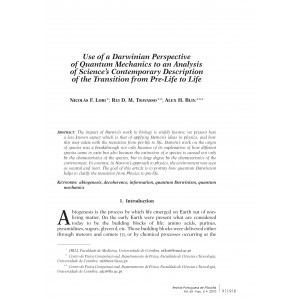 Use of a Darwinian Perspective of Quantum Mechanics to an Analysis of Science