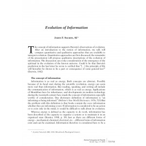 Evolution of Information
