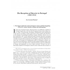 The Reception of Darwin in Portugal