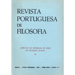 Aspectos do Problema de Deus na Filosofia Actual: II