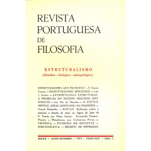 Estruturalismo: (filosófico—biológico—antropológico)