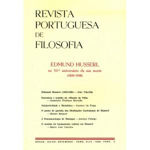 Edmund Husserl: no 50.° aniversário da sua morte 1859-1938