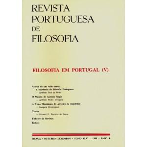 Filosofia em Portugal V