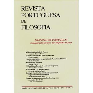 Filosofia em Portugal VI