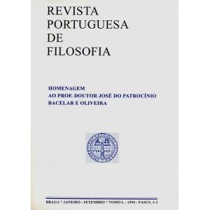 Homenagem ao Prof. Doutor José do Patrocínio Bacelar e Oliveira