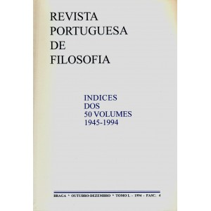 Indices dos 50 Volumes 1945-1994