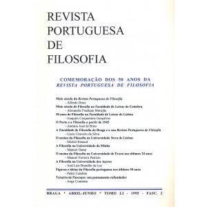 Celebration of 50 years of Revista Portuguesa de Filosofia