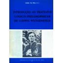 "Introdução ao ""Tractatus logico-philosophicus"" de L. Wittgenstein"