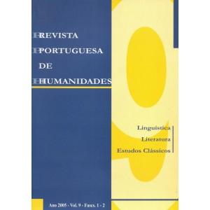 Revista Portuguesa de Humanidades, Vol. 9, 2005