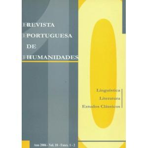 Revista Portuguesa de Humanidades, Vol. 10, 2006