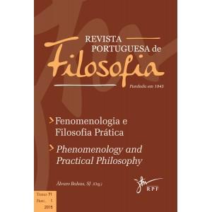 Fenomenologia e Filosofia Prática