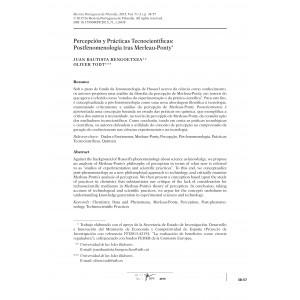 Percepción y Prácticas Tecnocientíficas: Postfenomenología tras Merleau-Ponty