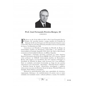In Memoriam: P. José Fernando Pereira Borges, SJ (1928-2013)