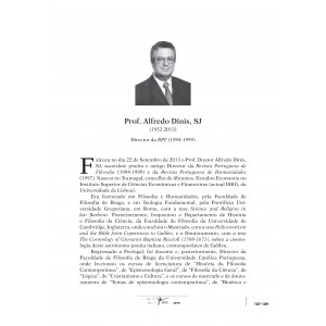 In Memoriam: P. Alfredo Dinis, SJ (1952-2013)