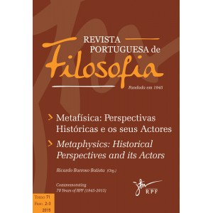 Metafísica: Perspectivas Históricas e os seus Actores