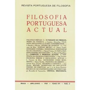 Filosofia Portuguesa Actual