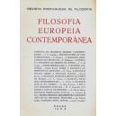 Filosofia Europeia Contemporânea