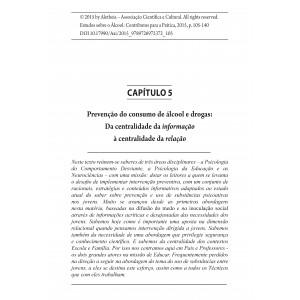 Prevenção do Consumo de Álcool e Drogas: Da Centralidade da Informação à Centralidade da Relação