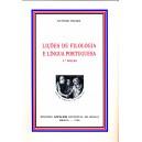 Lições de Filologia e Língua Portuguesa