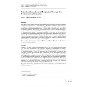 Naturalized Semantics and Metaphysical Ontology