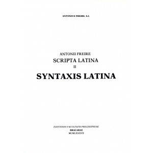 Scripta Latina – II