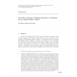 Jaime II de Aragão na Política Europeia e do Papado em seu Tempo (1291– 1327)