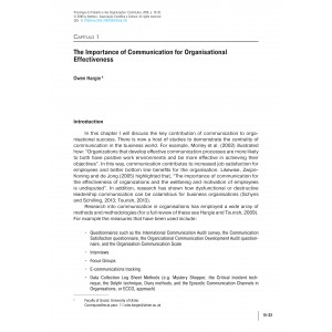 The Importance of Communication for Organisational Effectiveness