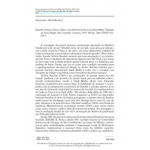 Book Review - Baschet, Jérôme. Corpos e Almas: Uma História da Pessoa na Idade Média.