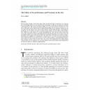 The Ethics of Social Distance and Proximity in the City