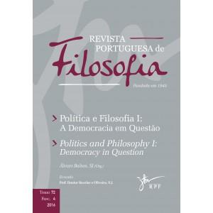 Política e Filosofia I: A Democracia em Questão